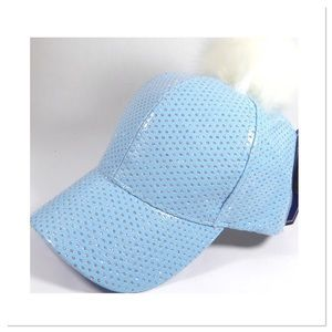 Light Blue Sparkling Cap